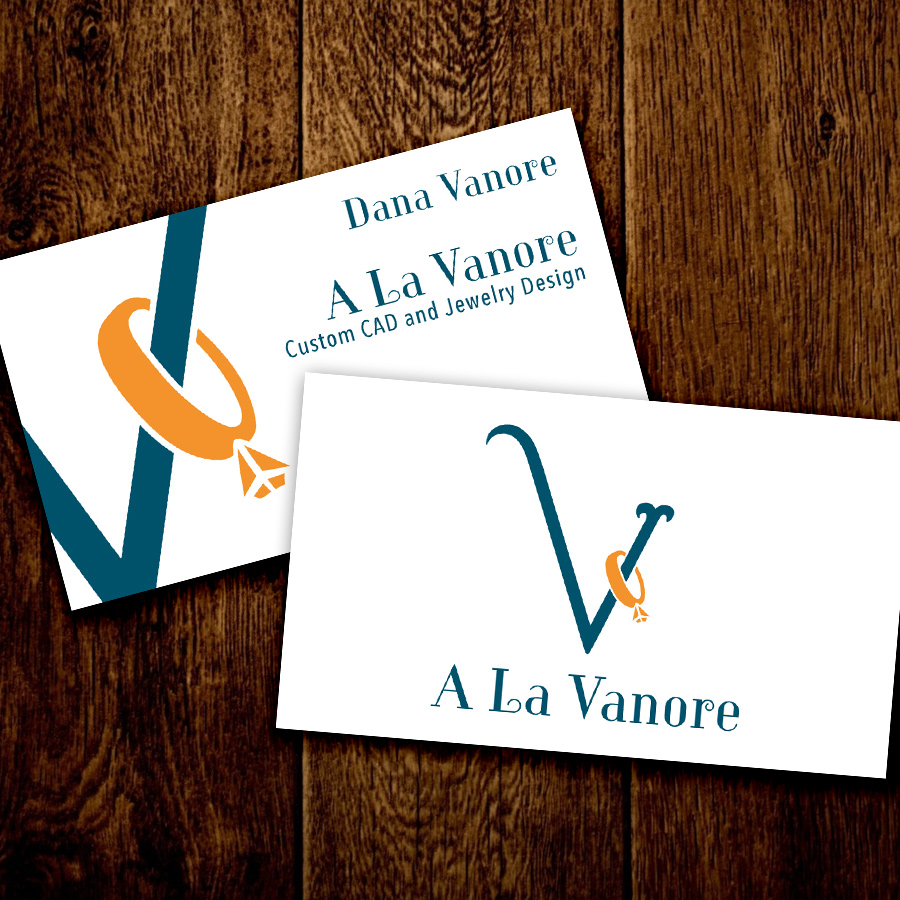 For A La Vanore, we wanted the logo to be clean and elegant.