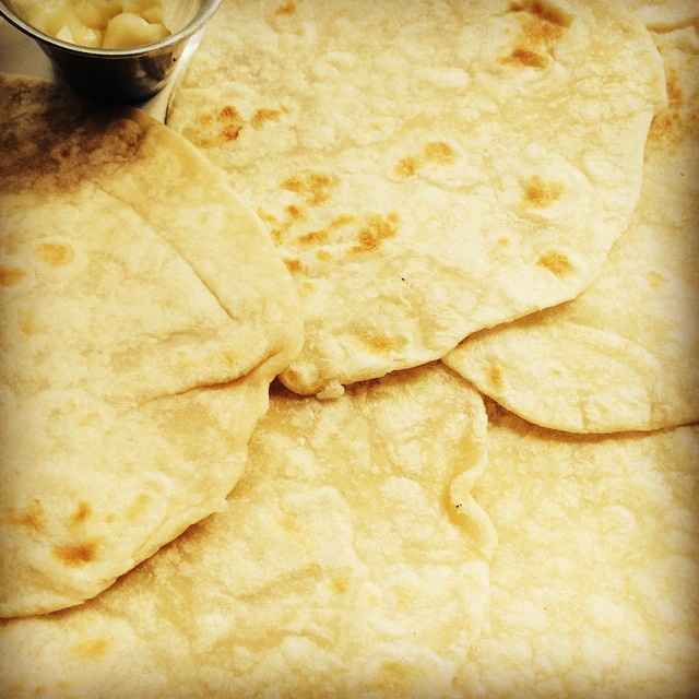 Home made tortillas and honey butter? Yes! We've got that here at El Camino. #madefresh #justlikemommakesit #ijustatetwo #lunchtime