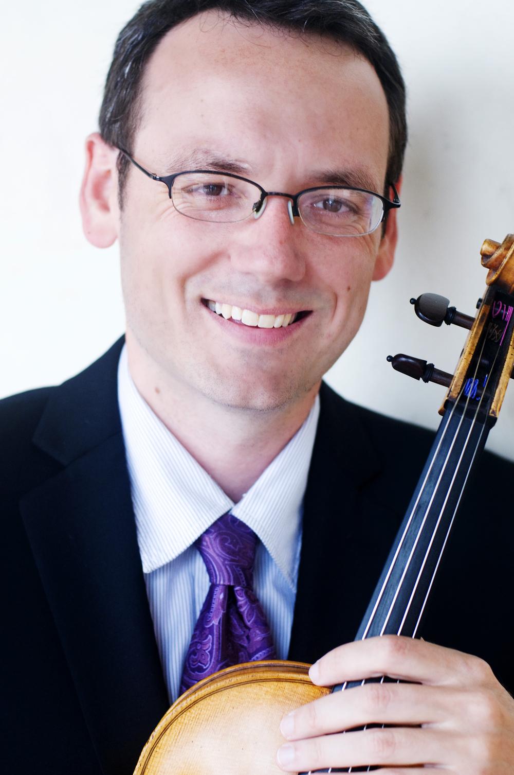 Travis Maril, violin and viola