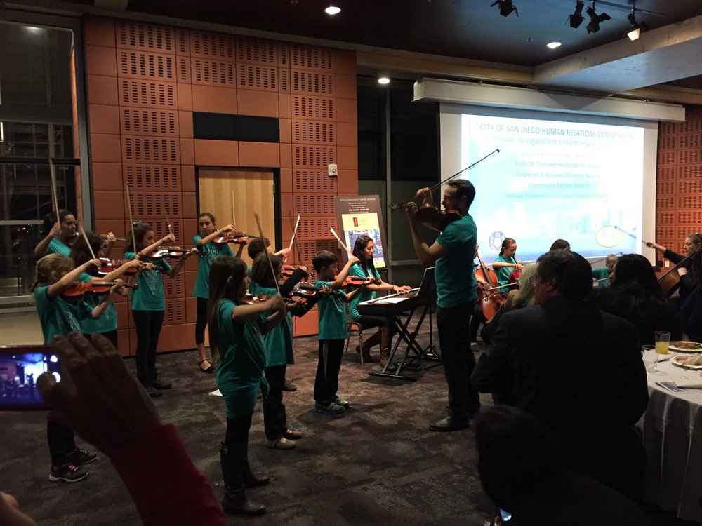 String Academy at Downtown Public Library