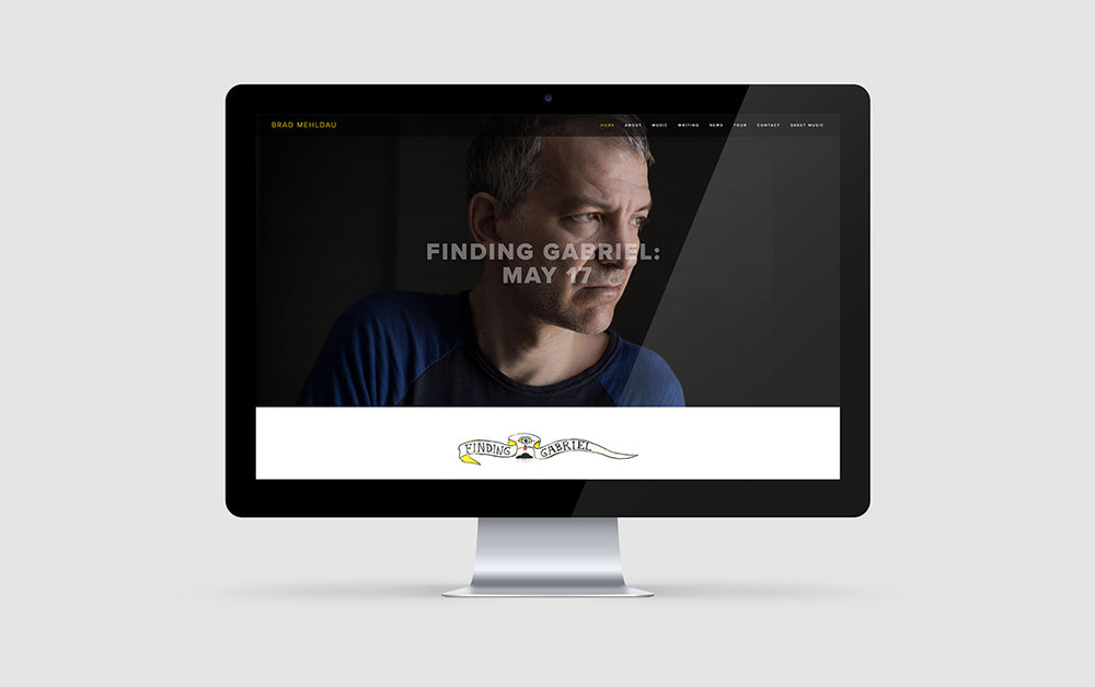 Working with Jazz Great Brad Mehldau: Branding, Music Website Design and Digital Marketing