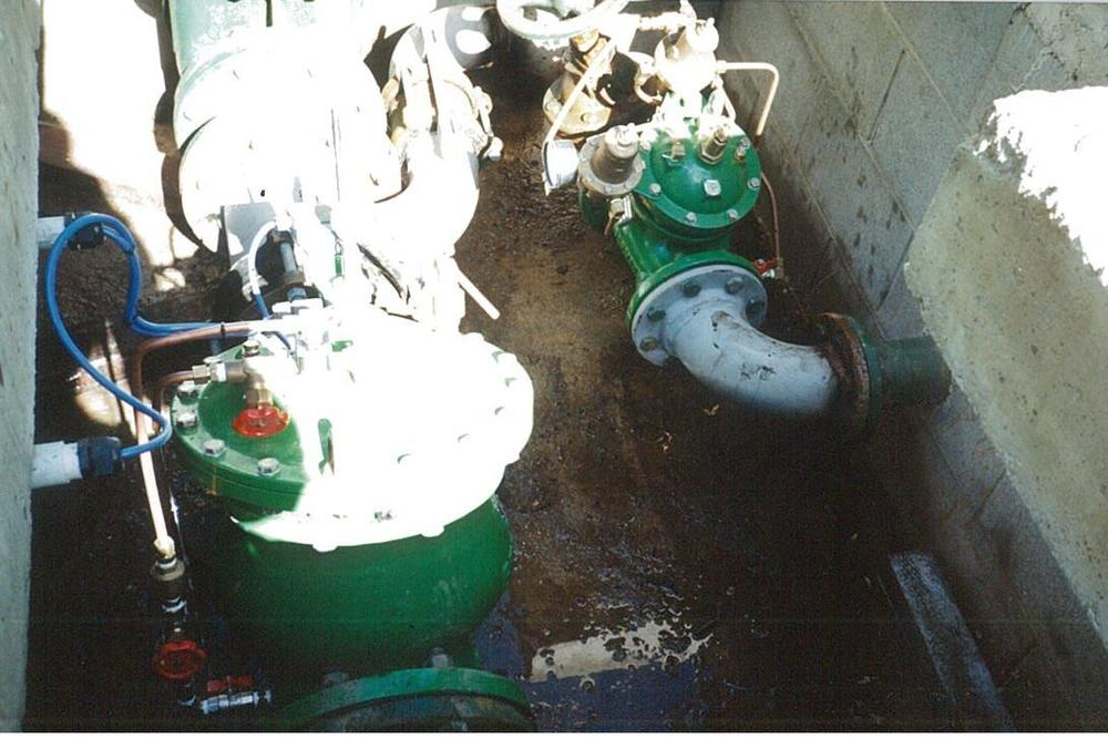 SEPTEMBER 1996 - Queenstown Lakes district council - pump control valve & surge anticipating valve