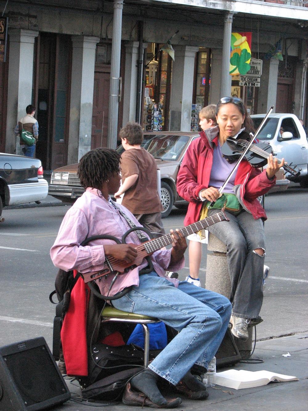 Jackson Square Performers.JPG