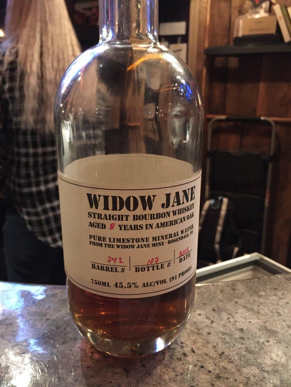 Bottle 'o Widow Jane