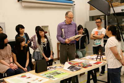 HK Polytechnic University  - Final Critique, Carsten & Students