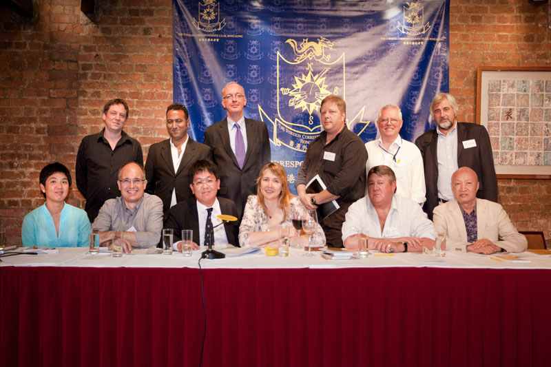 Foreign Correspondents' Club, Hong Kong  - 2012/13 Board of Govenors