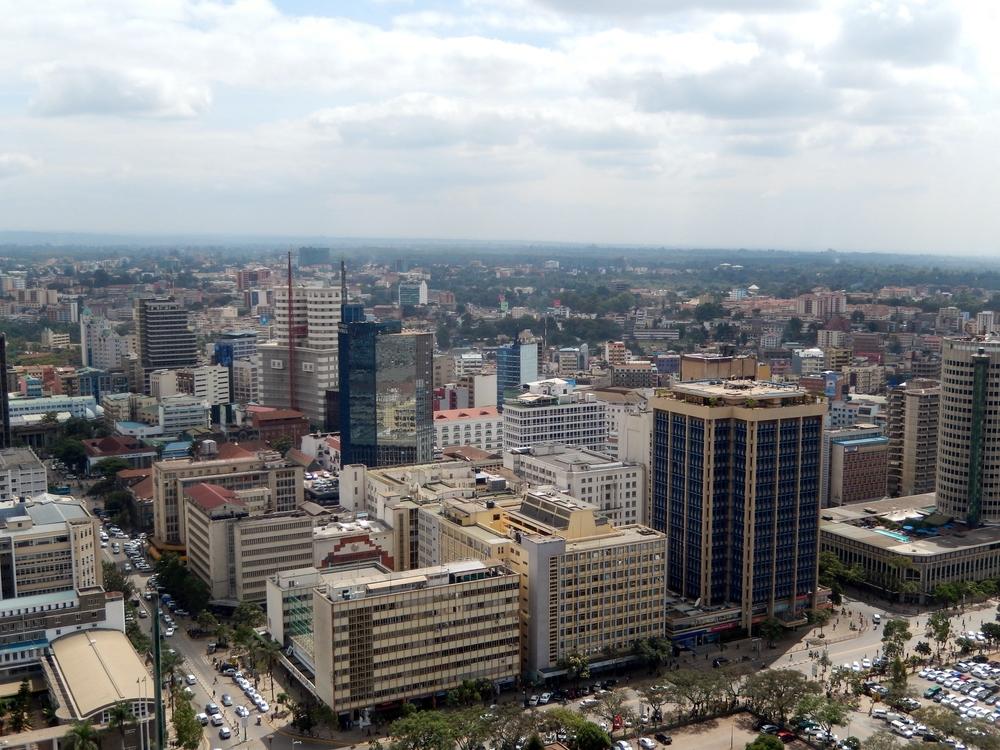 View of Nairobi