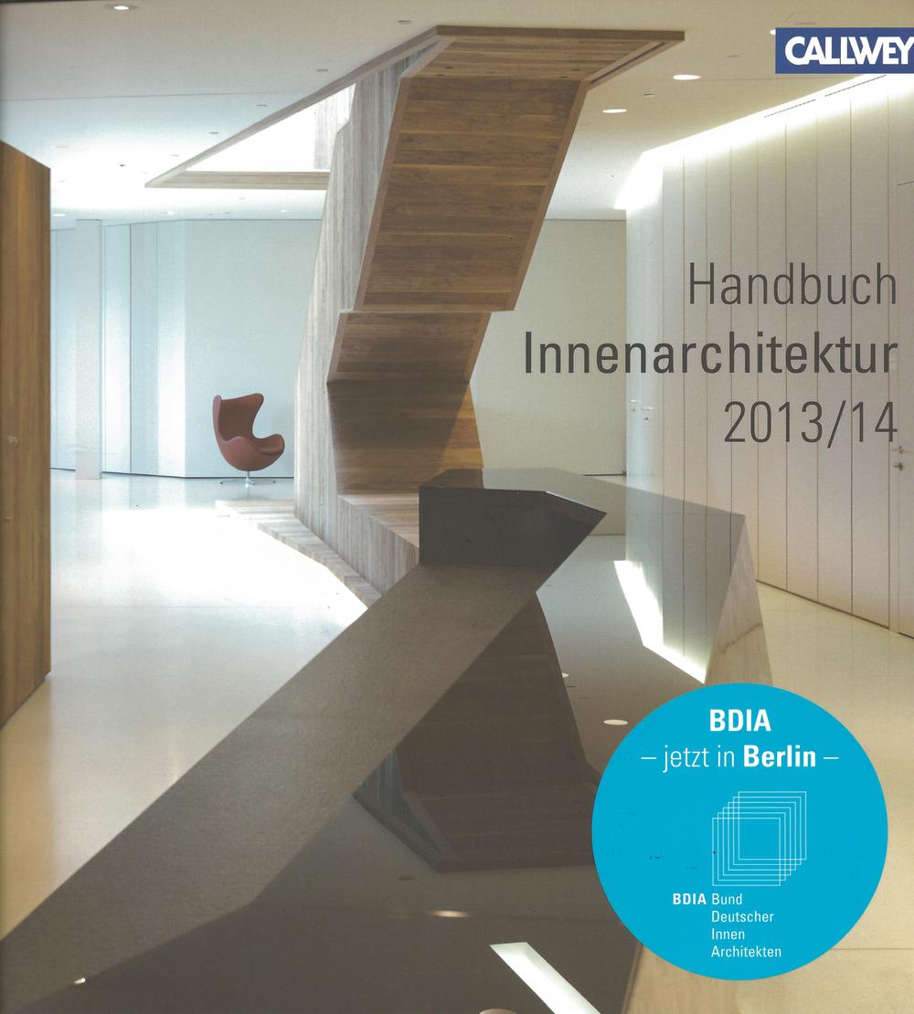 Jahrbuch BDIA 2013 / 14  Innenarchitektur