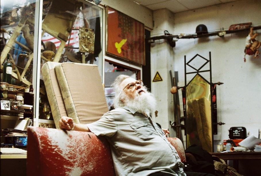 Portrait of R. Stevie Moore by Wilson Novitzki (2013)