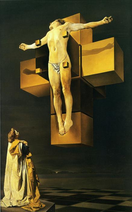 Dali's Corpus Hypercubus