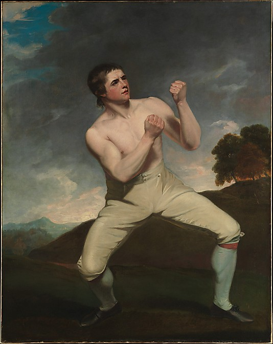 [ Richard Humphreys, the Boxer by  John Hoppner  (British, London 1758–1810 London)] - Met collection