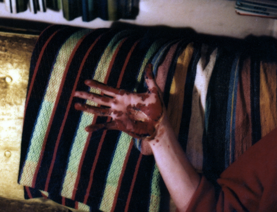 The Artist's Hand, Ca. 1984 (Photo: PJM)