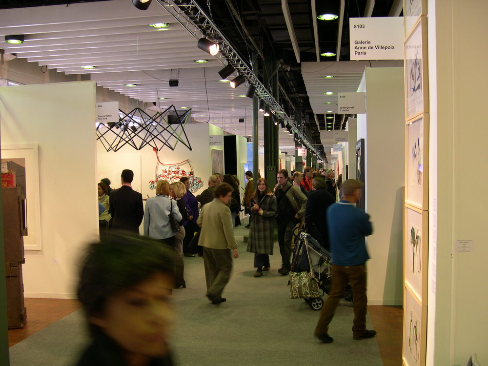Armory Show, 2003 (Photo: PJM)