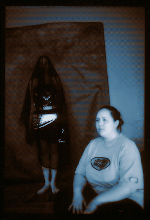 "2 Women; Nashville series/portfolio, for CONTENT Y|G [19"" x 13"" Epson print on archival paper, unframed (2008)]"
