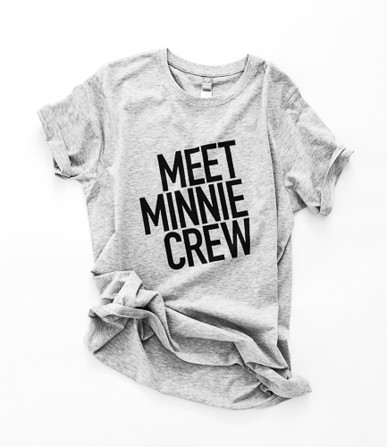 MeetMinnie Crew T-shirt