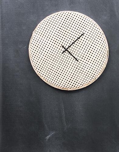 DIY Woven Wall Clock