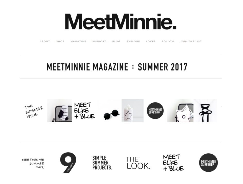 The Summer 2017 issue of MeetMinnie magazine is now online. Here are a few notes on what's inside and what's changed at MeetMinnie since our previous issue. Thank you for reading! (Reprinted from the Summer 2017 issue of MeetMinnie magazine.)