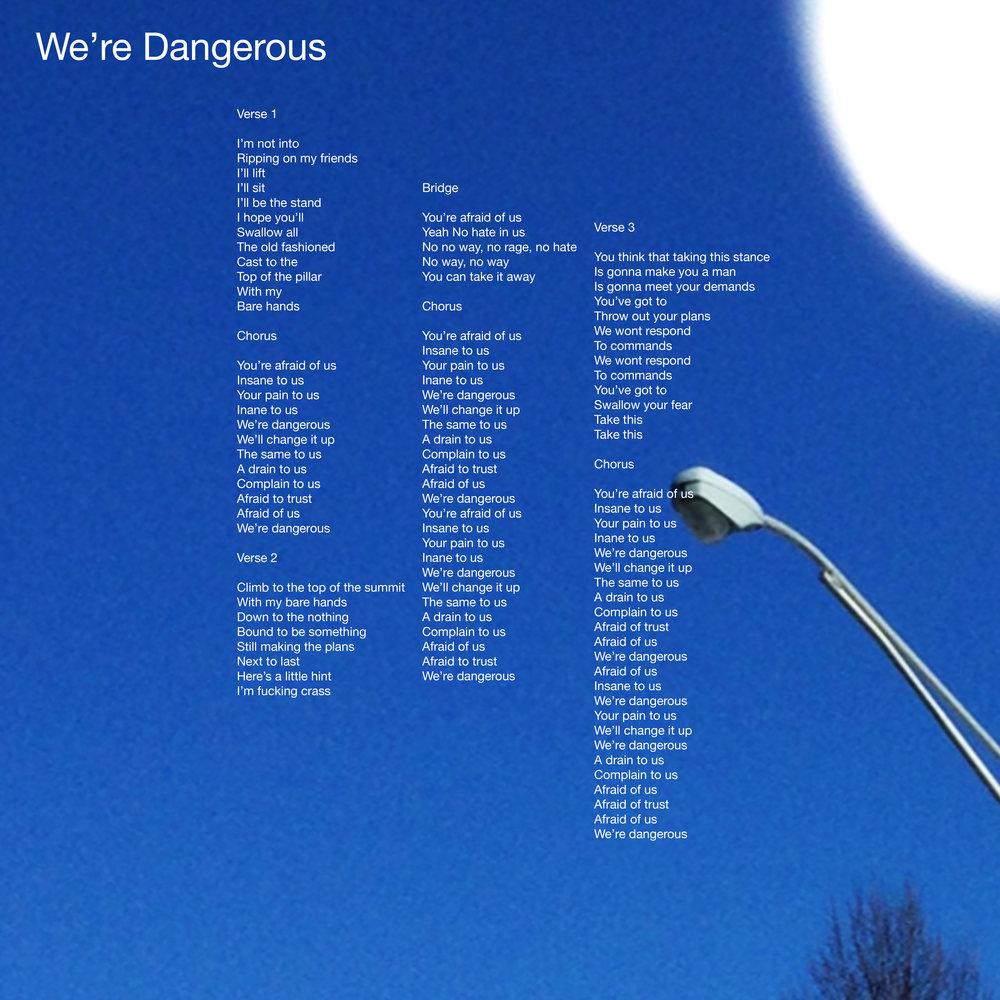 We'reDangerousLyricArtDLX.jpg
