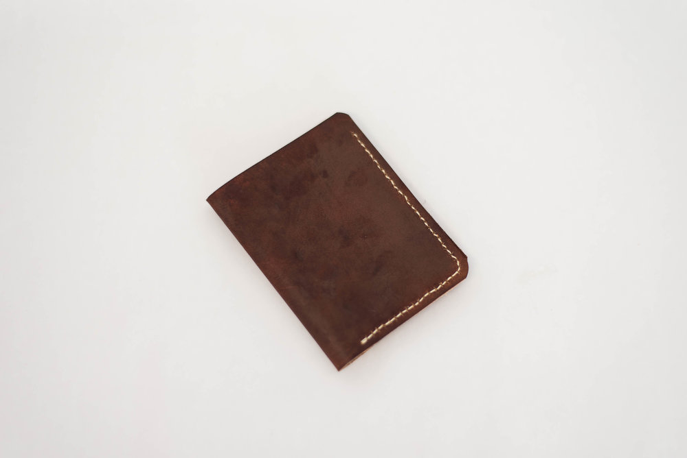 Dark Brown Bi-Fold Wallet