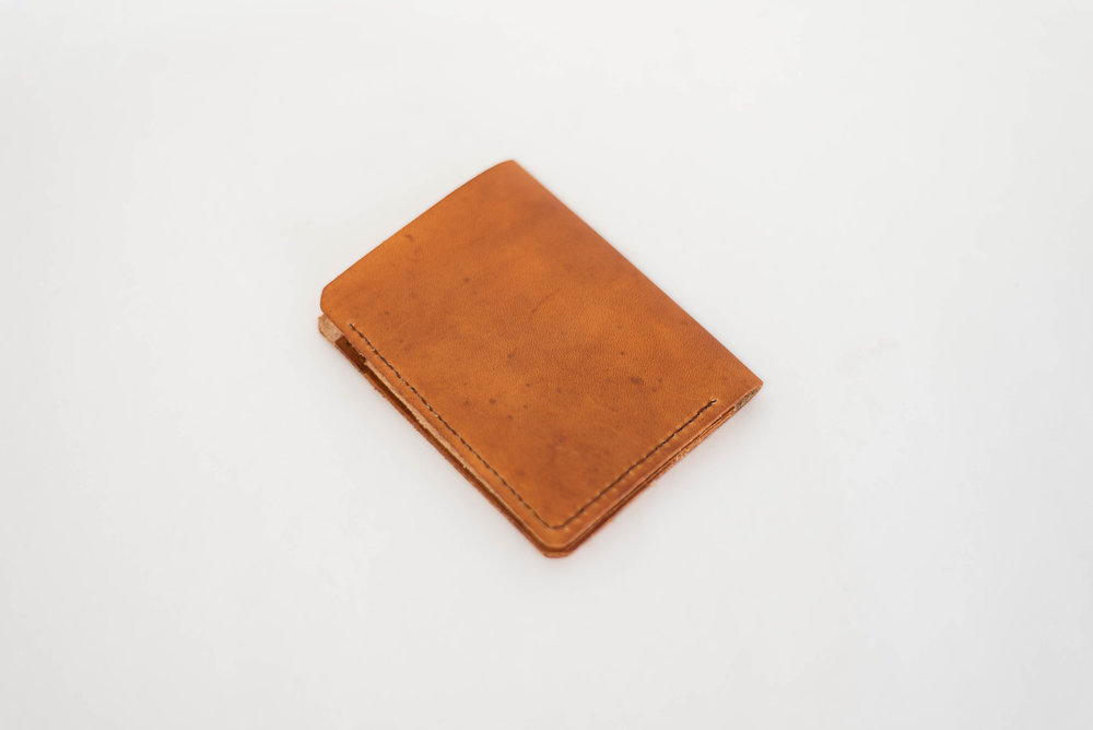 Tan Bi-Fold Wallet