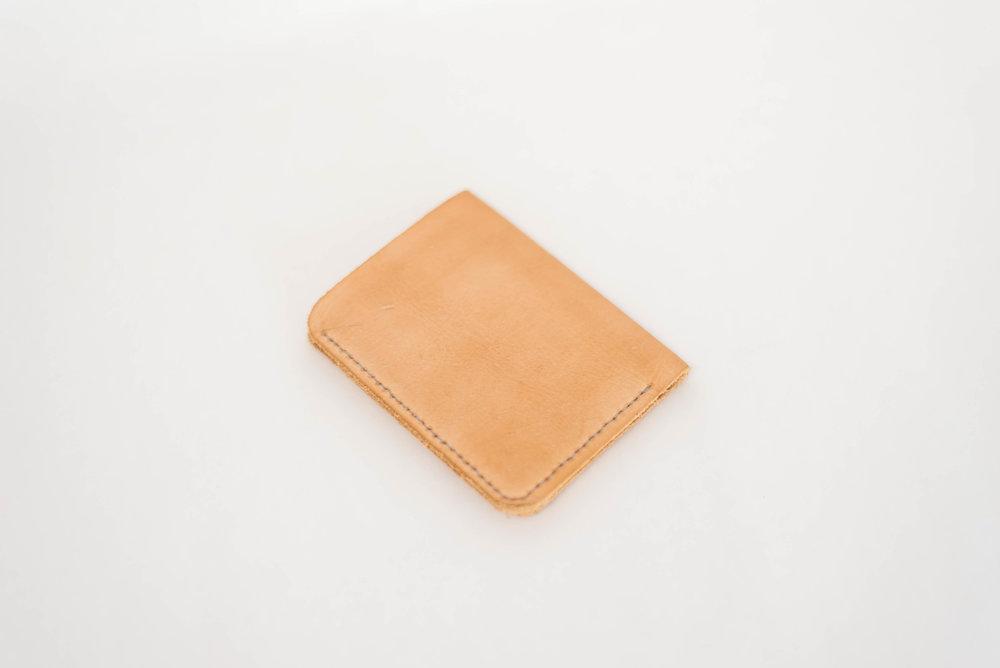 Natural Bi-Fold Wallet