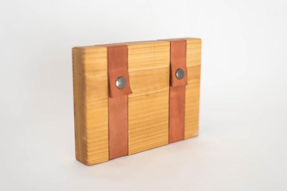 Cedar with Tan Leather