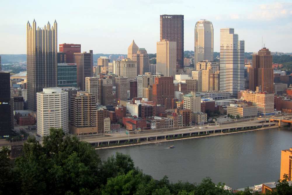 Pittsburgh: Skyline from Mount Washington, by wallyg