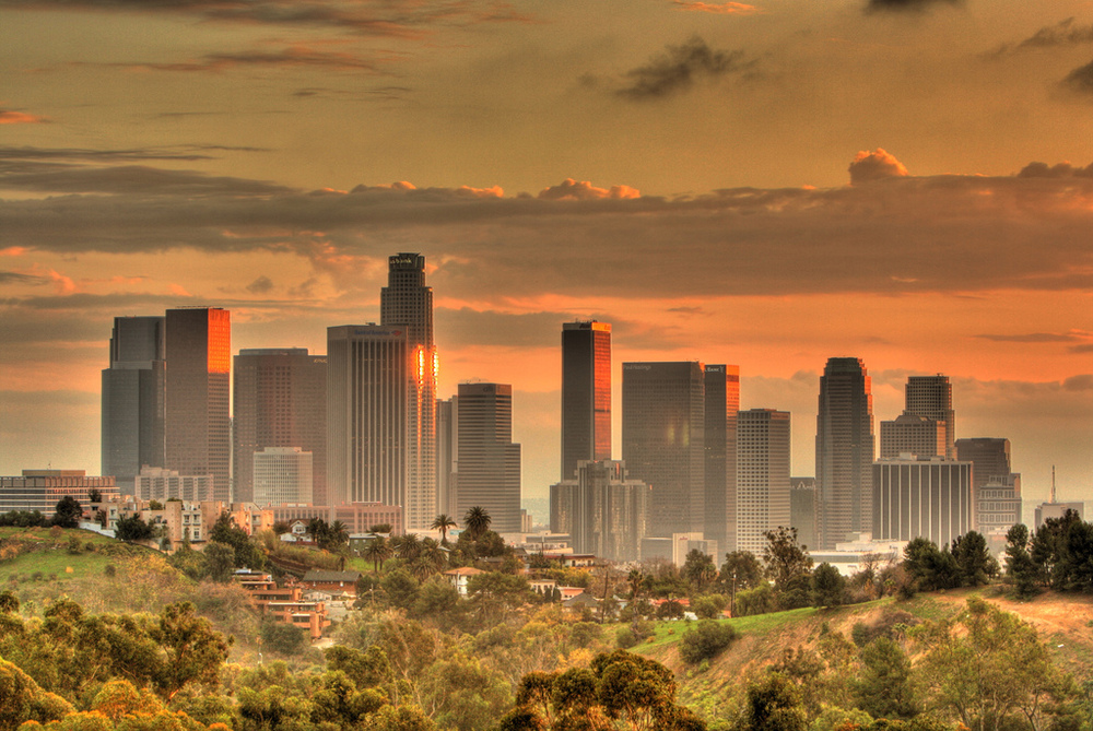 Downtown Los Angeles, By Mulling it Over