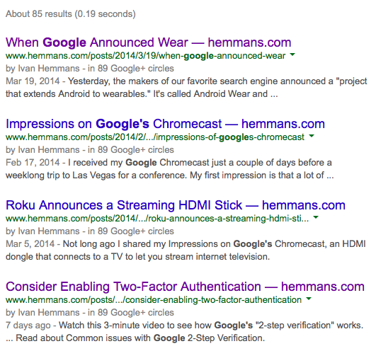 "Search results for ""Google"" from hemmans.com"