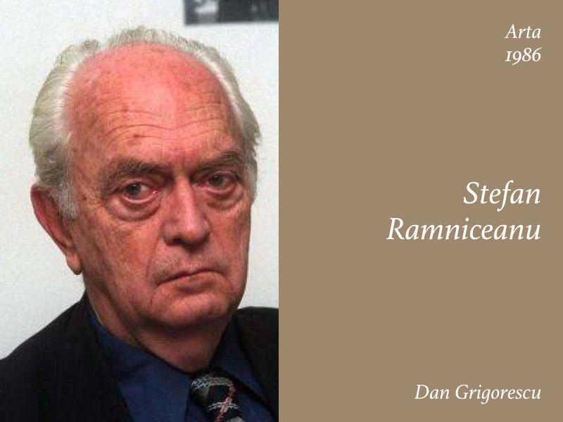 Essays — Stefan Ramniceanu, Dan Grigorescu