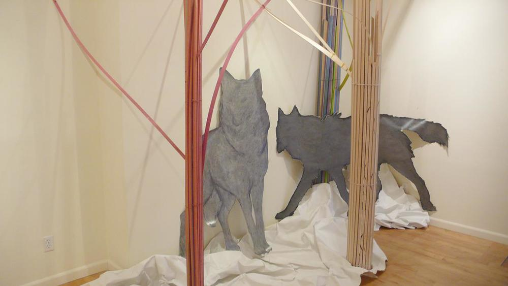 Installation Sketch, 2012
