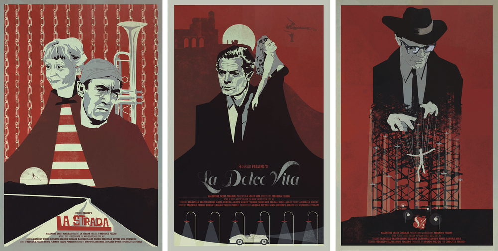 Fellini Set of 3