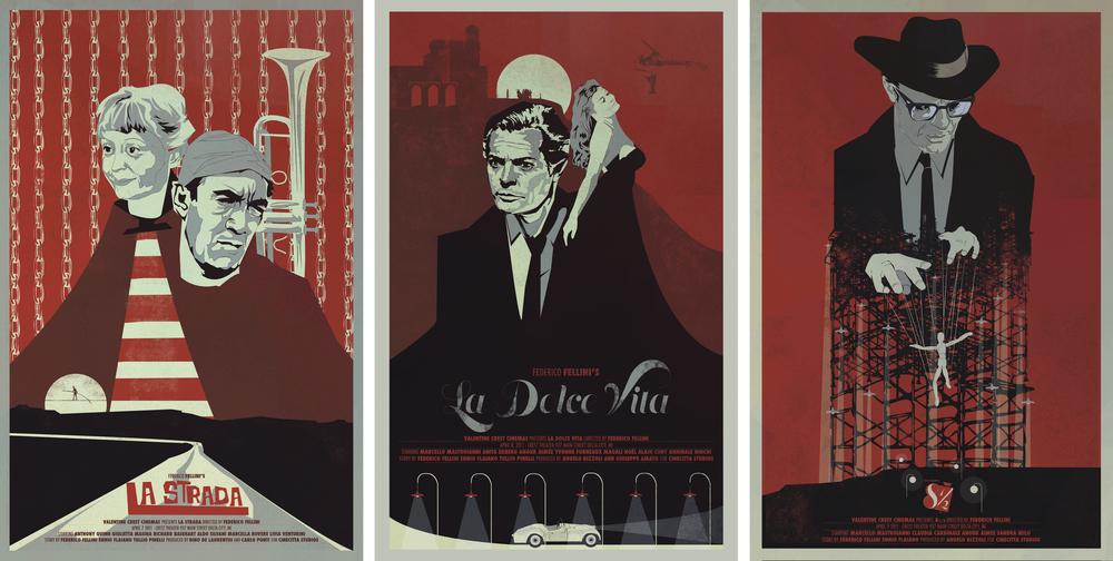 Fellini Set of 3