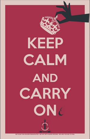 One Percent: Keep Calm