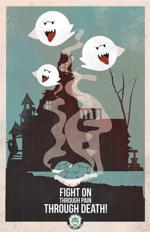 Mario Propaganda: Boos