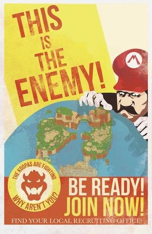 Mario Propaganda: Enemy