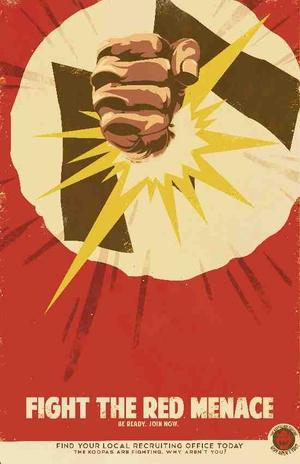 Mario Propaganda: The Red Menace