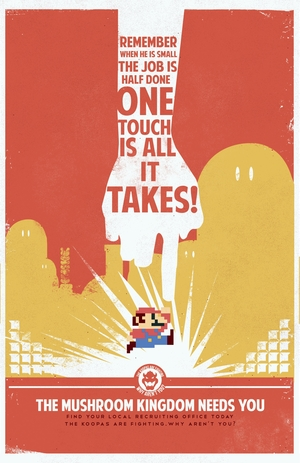 Mario Propaganda: One Touch