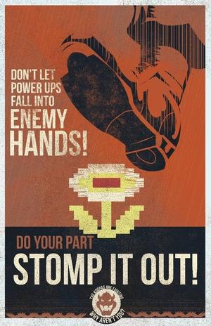 Mario Propaganda: Power Ups