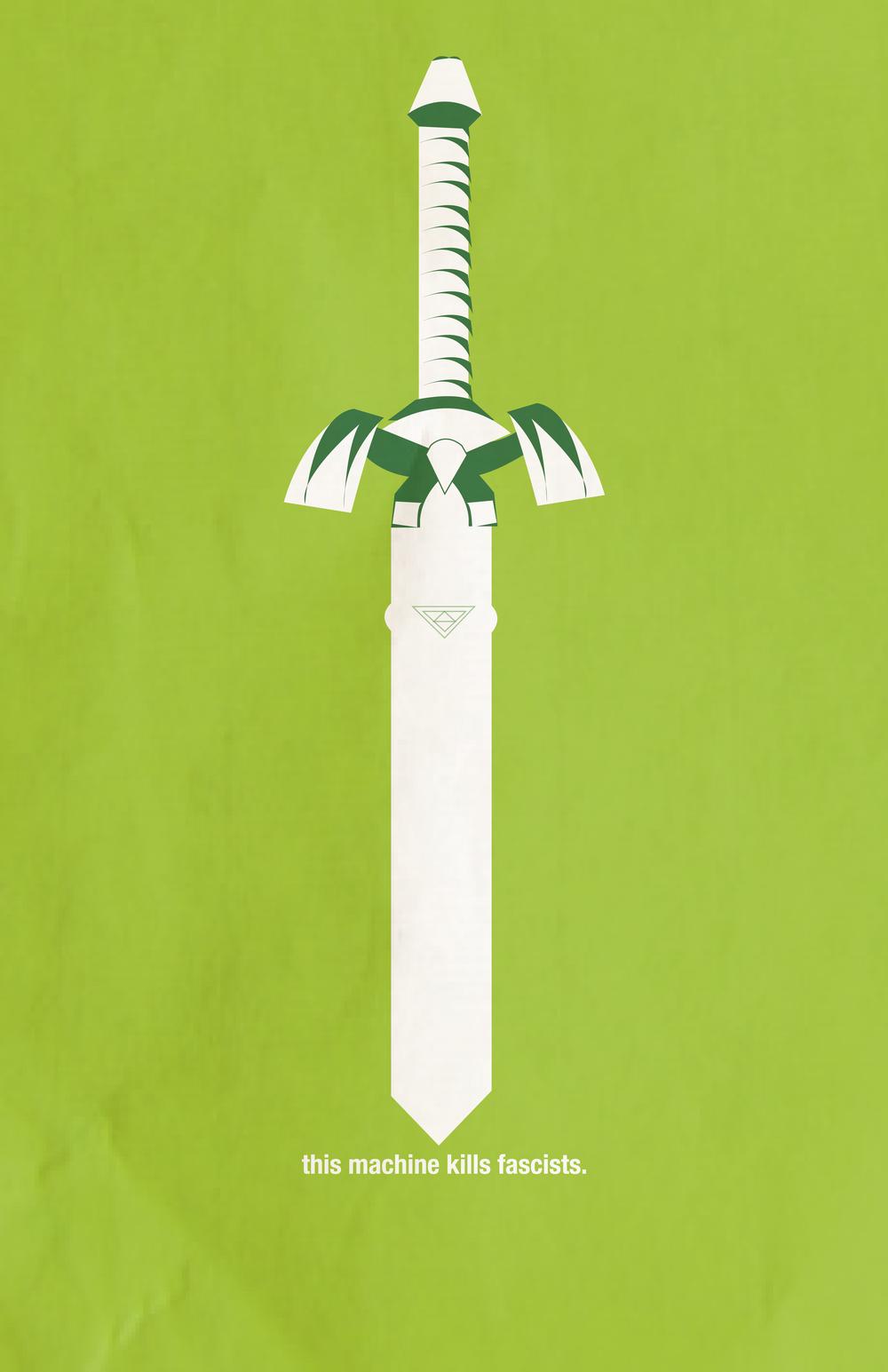 This Machine KillsFascists: Master Sword