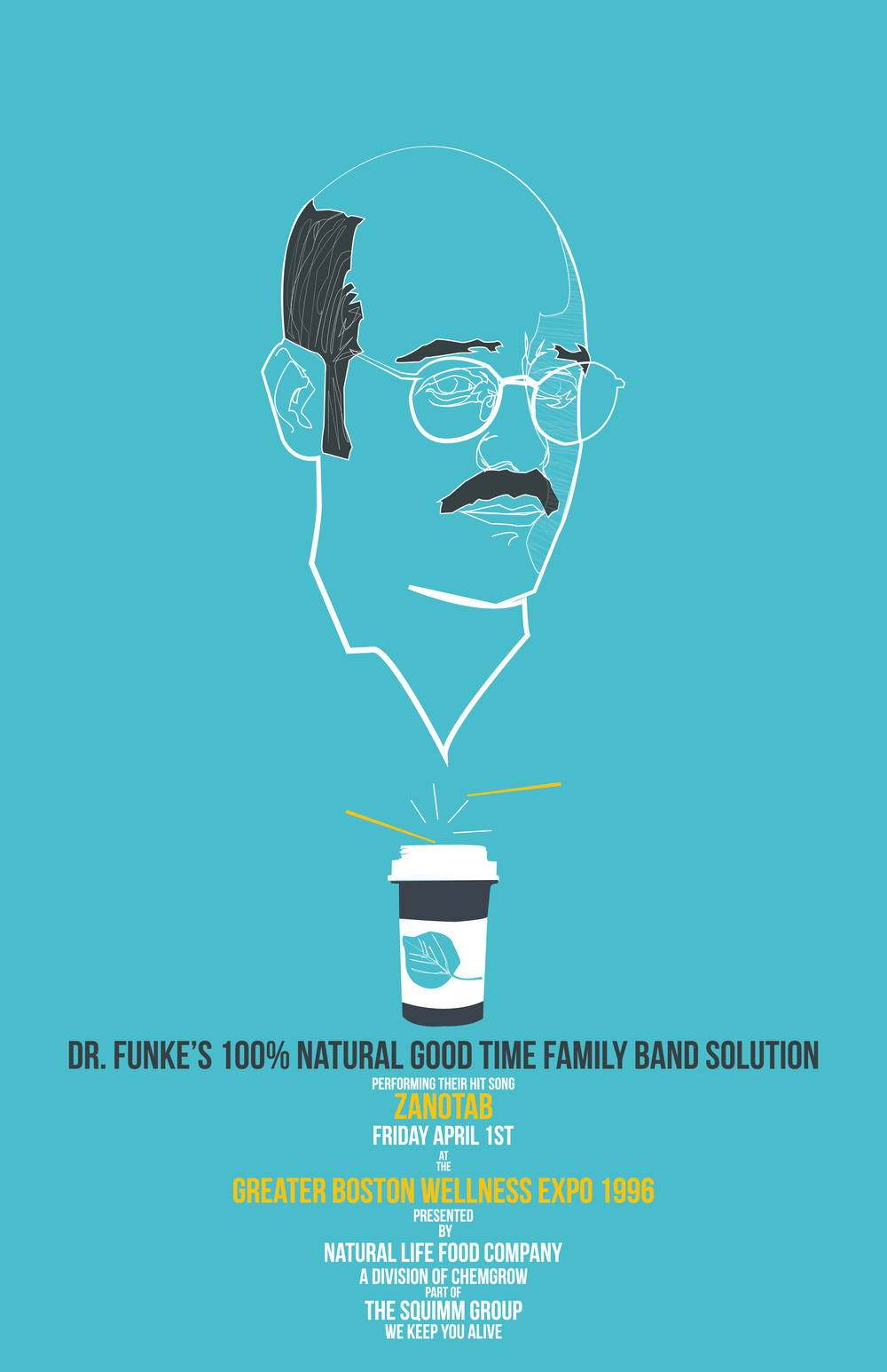 Tuned In: Dr Funke's 100% Natural Good Time Family Band Solution