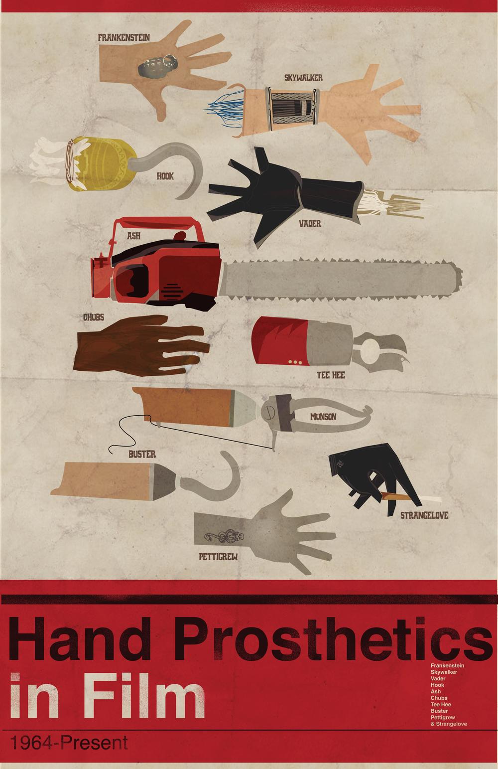 Hand Prosthetics in Film
