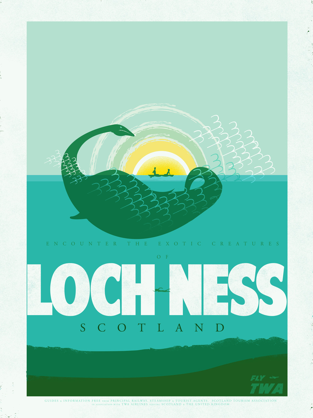 Travel Posters- Loch Ness
