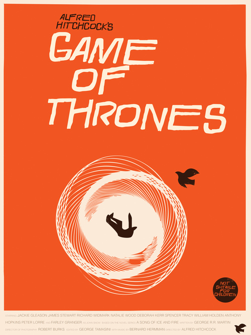 Saul Bass Game of Thrones Fro Design Company