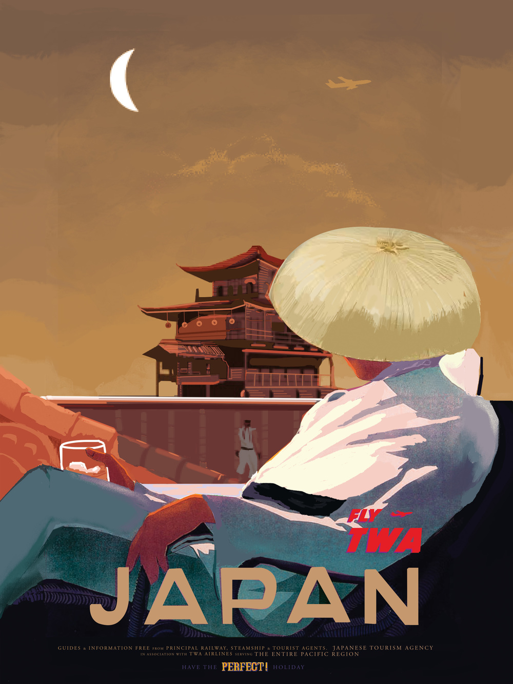 "Japan inspired by Street Fighter 18"" by 24"" Giclee Print on Archival Paper Signed & Numbered Limited Edition of 50 30.00"