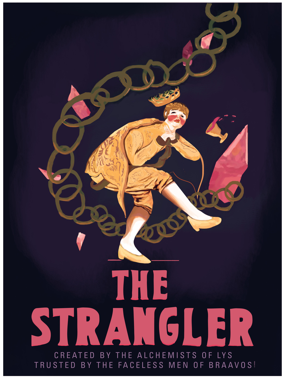 "The Strangler 18"" by 24"" Giclee Print on Archival Paper Signed & Numbered Limited Edition of 100 30.00"
