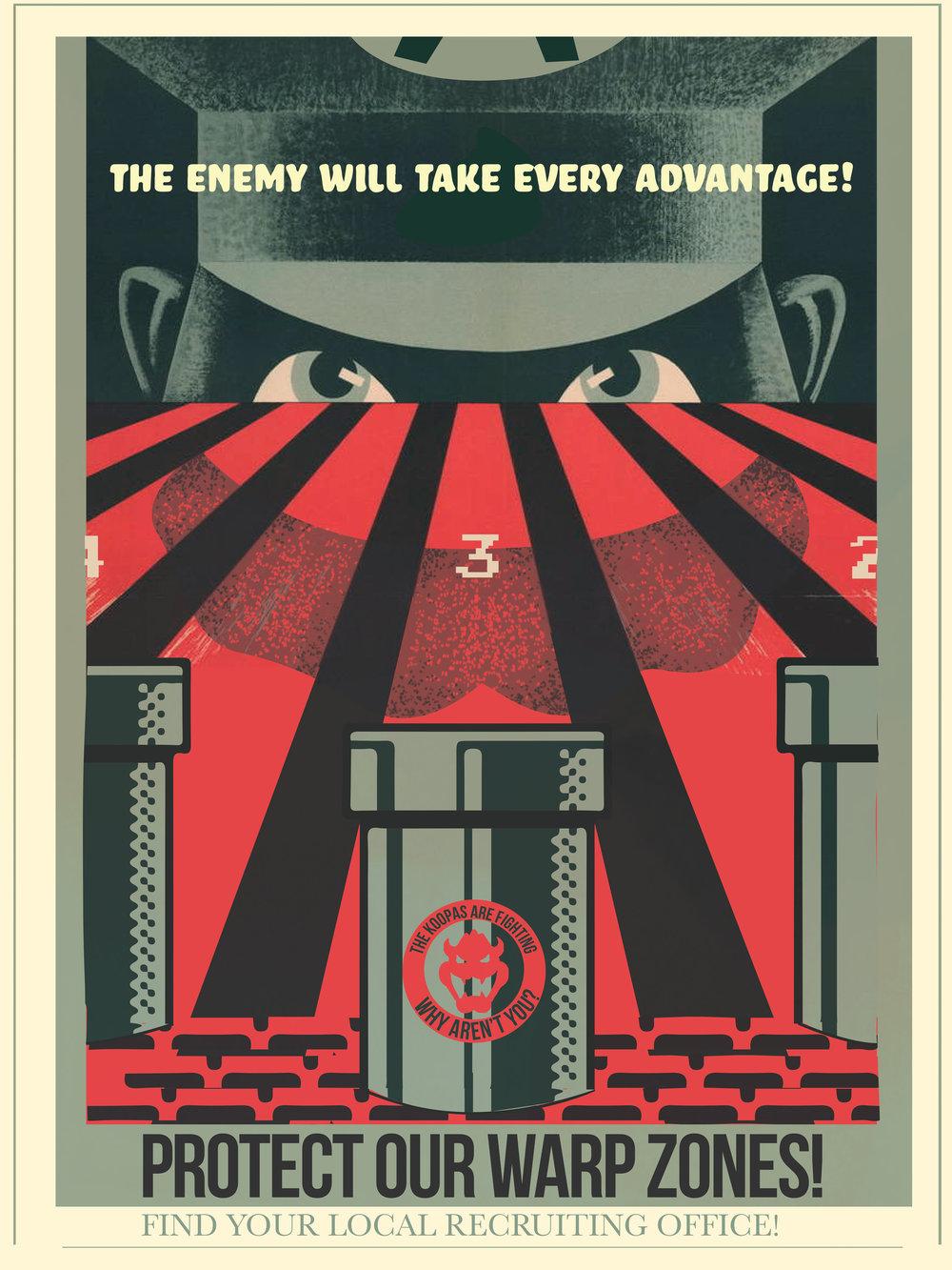 Mario Propaganda Fro Design Company