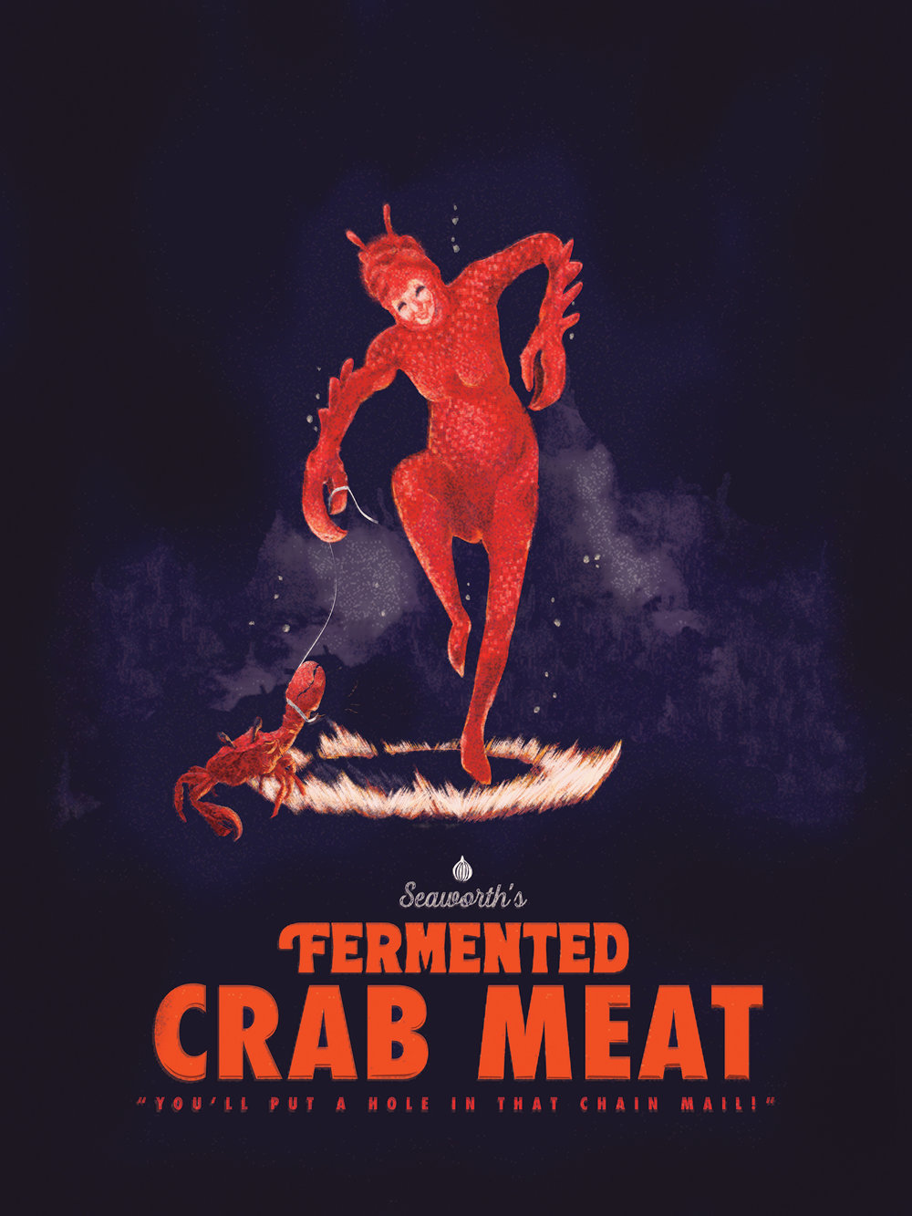 Fermented Crab Meat $50