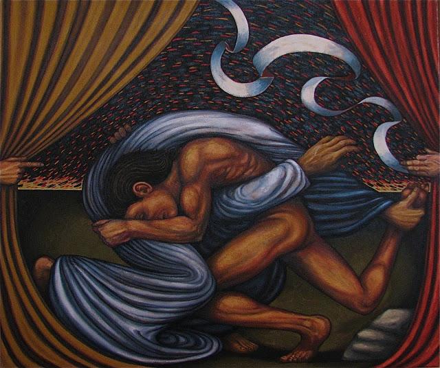 Painting by  Jack Baumgartner