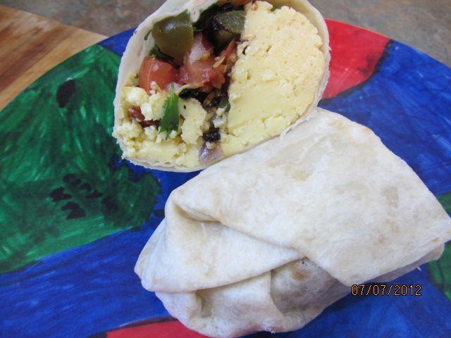 Bandit Burrito Breakfast Burrito